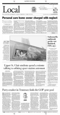Pittsburgh Post-Gazette from Pittsburgh, Pennsylvania on August 28, 2004 · Page 11