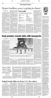 Pittsburgh Post-Gazette from Pittsburgh, Pennsylvania on August 30, 2004 · Page 4