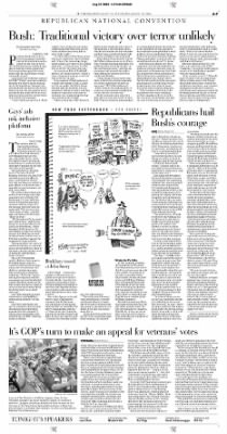 Pittsburgh Post-Gazette from Pittsburgh, Pennsylvania on August 31, 2004 · Page 7