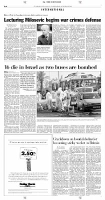 Pittsburgh Post-Gazette from Pittsburgh, Pennsylvania on September 1, 2004 · Page 6