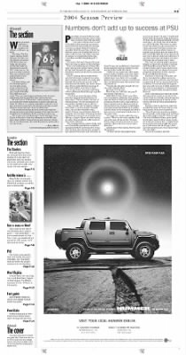 Pittsburgh Post-Gazette from Pittsburgh, Pennsylvania on September 1, 2004 · Page 63
