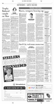 Pittsburgh Post-Gazette from Pittsburgh, Pennsylvania on September 2, 2004 · Page 40