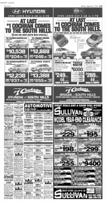 Pittsburgh Post-Gazette from Pittsburgh, Pennsylvania on September 2, 2004 · Page 59