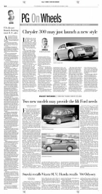 Pittsburgh Post-Gazette from Pittsburgh, Pennsylvania on September 3, 2004 · Page 46