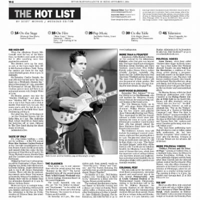 Pittsburgh Post-Gazette from Pittsburgh, Pennsylvania on September 3, 2004 · Page 75