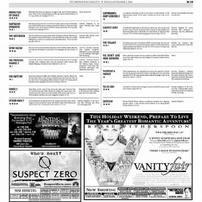 Pittsburgh Post-Gazette from Pittsburgh, Pennsylvania on September 3, 2004 · Page 92