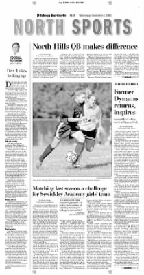 Pittsburgh Post-Gazette from Pittsburgh, Pennsylvania on September 8, 2004 · Page 76