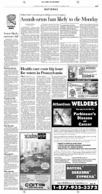 Pittsburgh Post-Gazette from Pittsburgh, Pennsylvania on September 9, 2004 · Page 9