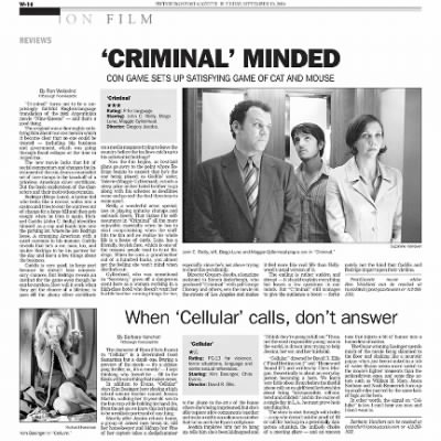 Pittsburgh Post-Gazette from Pittsburgh, Pennsylvania on September 10, 2004 · Page 78