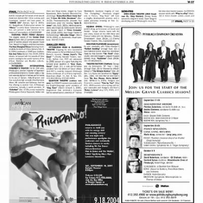 Pittsburgh Post-Gazette from Pittsburgh, Pennsylvania on September 10, 2004 · Page 98