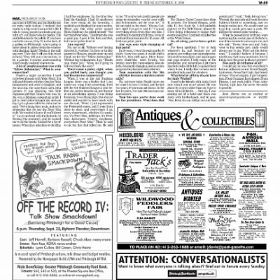 Pittsburgh Post-Gazette from Pittsburgh, Pennsylvania on September 10, 2004 · Page 120