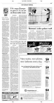 Pittsburgh Post-Gazette from Pittsburgh, Pennsylvania on September 14, 2004 · Page 3