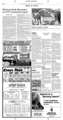 Pittsburgh Post-Gazette from Pittsburgh, Pennsylvania on September 14, 2004 · Page 14