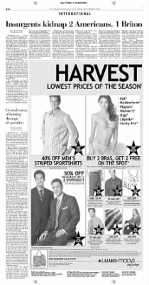 Pittsburgh Post-Gazette from Pittsburgh, Pennsylvania on September 17, 2004 · Page 4