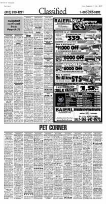 Pittsburgh Post-Gazette from Pittsburgh, Pennsylvania on September 17, 2004 · Page 51
