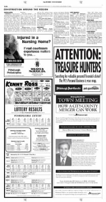 Pittsburgh Post-Gazette from Pittsburgh, Pennsylvania on September 19, 2004 · Page 30