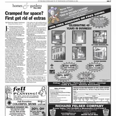 Pittsburgh Post-Gazette from Pittsburgh, Pennsylvania on September 22, 2004 · Page 79