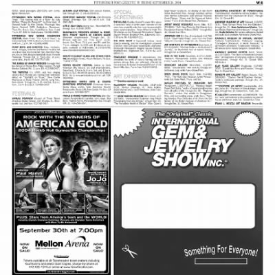 Pittsburgh Post-Gazette from Pittsburgh, Pennsylvania on September 24, 2004 · Page 67