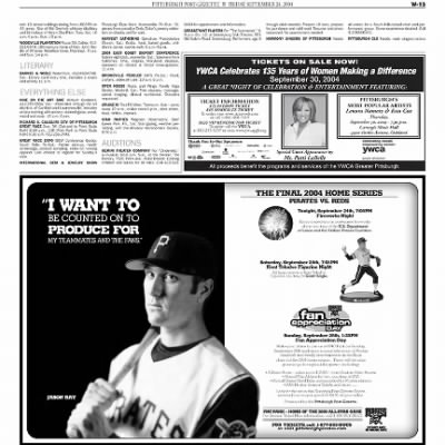 Pittsburgh Post-Gazette from Pittsburgh, Pennsylvania on September 24, 2004 · Page 75