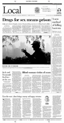 Pittsburgh Post-Gazette from Pittsburgh, Pennsylvania on September 25, 2004 · Page 8