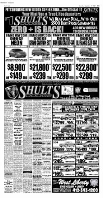 Pittsburgh Post-Gazette from Pittsburgh, Pennsylvania on September 25, 2004 · Page 54
