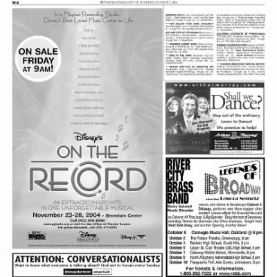 Pittsburgh Post-Gazette from Pittsburgh, Pennsylvania on October 1, 2004 · Page 152