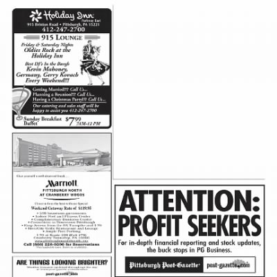 Pittsburgh Post-Gazette from Pittsburgh, Pennsylvania on October 1, 2004 · Page 187
