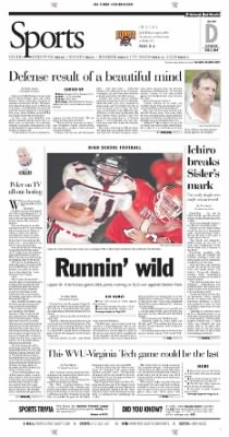 Pittsburgh Post-Gazette from Pittsburgh, Pennsylvania on October 2, 2004 · Page 43