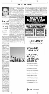 Pittsburgh Post-Gazette from Pittsburgh, Pennsylvania on October 3, 2004 · Page 7