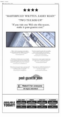 Pittsburgh Post-Gazette from Pittsburgh, Pennsylvania on October 3, 2004 · Page 71
