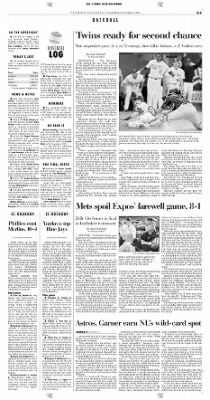 Pittsburgh Post-Gazette from Pittsburgh, Pennsylvania on October 4, 2004 · Page 33