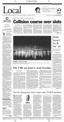 Pittsburgh Post-Gazette from Pittsburgh, Pennsylvania on October 5, 2004 · Page 8