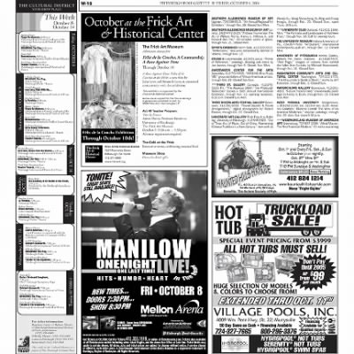 Pittsburgh Post-Gazette from Pittsburgh, Pennsylvania on October 8, 2004 · Page 72