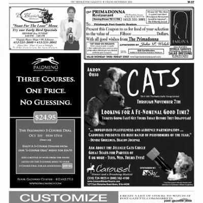 Pittsburgh Post-Gazette from Pittsburgh, Pennsylvania on October 8, 2004 · Page 96