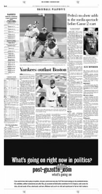 Pittsburgh Post-Gazette from Pittsburgh, Pennsylvania on October 13, 2004 · Page 38