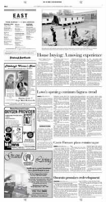 Pittsburgh Post-Gazette from Pittsburgh, Pennsylvania on October 13, 2004 · Page 72