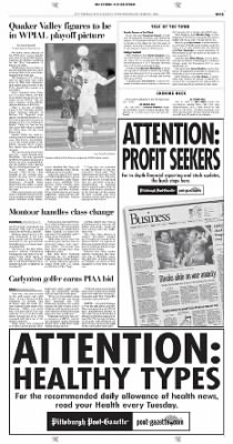 Pittsburgh Post-Gazette from Pittsburgh, Pennsylvania on October 13, 2004 · Page 131