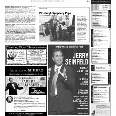 Pittsburgh Post-Gazette from Pittsburgh, Pennsylvania on October 15, 2004 · Page 73