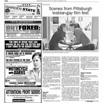 Pittsburgh Post-Gazette from Pittsburgh, Pennsylvania on October 15, 2004 · Page 91