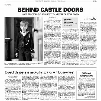 Pittsburgh Post-Gazette from Pittsburgh, Pennsylvania on October 15, 2004 · Page 108