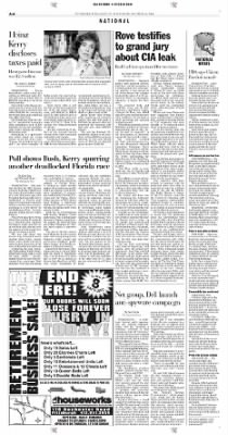 Pittsburgh Post-Gazette from Pittsburgh, Pennsylvania on October 16, 2004 · Page 6