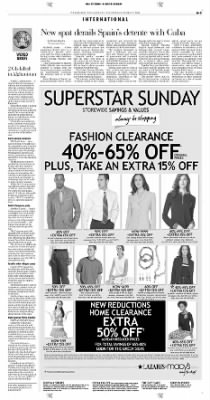 Pittsburgh Post-Gazette from Pittsburgh, Pennsylvania on October 17, 2004 · Page 3
