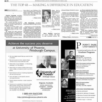 Pittsburgh Post-Gazette from Pittsburgh, Pennsylvania on October 20, 2004 · Page 76