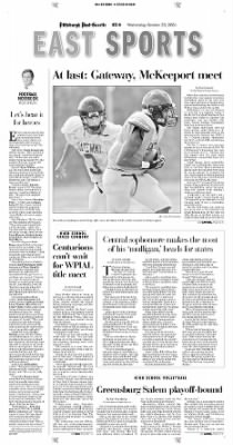 Pittsburgh Post-Gazette from Pittsburgh, Pennsylvania on October 20, 2004 · Page 95
