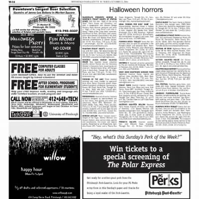 Pittsburgh Post-Gazette from Pittsburgh, Pennsylvania on October 22, 2004 · Page 80