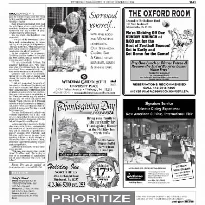 Pittsburgh Post-Gazette from Pittsburgh, Pennsylvania on October 22, 2004 · Page 104