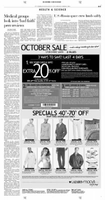 Pittsburgh Post-Gazette from Pittsburgh, Pennsylvania on October 24, 2004 · Page 3