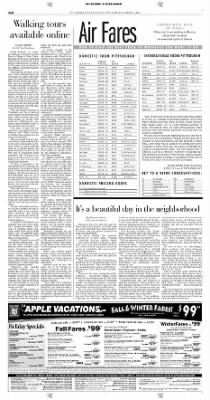 Pittsburgh Post-Gazette from Pittsburgh, Pennsylvania on October 24, 2004 · Page 110