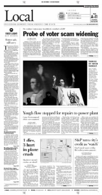 Pittsburgh Post-Gazette from Pittsburgh, Pennsylvania on October 28, 2004 · Page 3