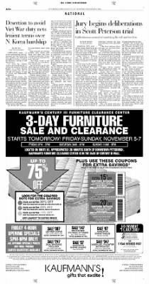 Pittsburgh Post-Gazette from Pittsburgh, Pennsylvania on November 4, 2004 · Page 14